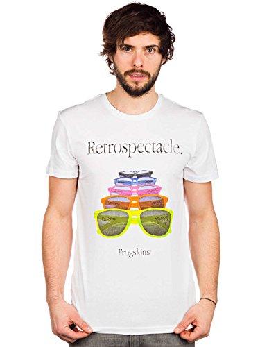 Oakley Herren T-Shirt Retrospectacle Tee, White, M, 453301SSFM
