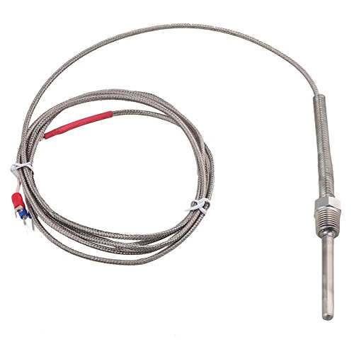 BQLZR étanche en acier inoxydable PT100thermocouple contrôle de la température Sonde G1/4Filetage 1.7metre de long câble -45à 420degrés