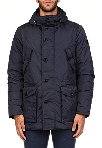 Peuterey Giacca Impermeabile Hasselblad OXF PEU307001181176 Blue Size:M