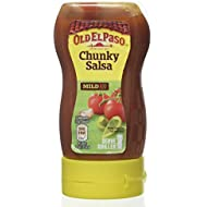 Old El Paso Mexican Chunky Salsa Squeezy, 238g