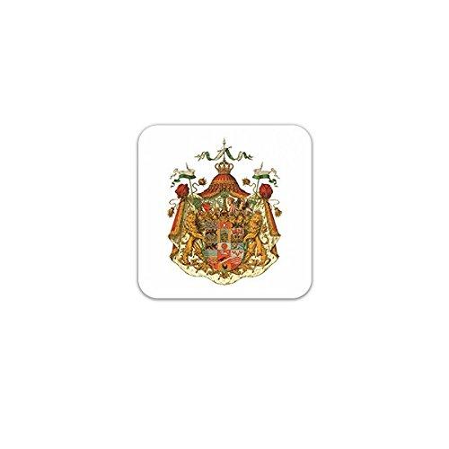 Aufkleber / Sticker -Herzogtum Sachsen-Altenburg Wappen Altenburg Monarchie Wettiner Thüringen Sachsen-Weimar Emblem 7x7cm #A3278
