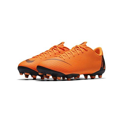 Nike Jr Vapor 12 Academy GS MG Größe 36 Orange (Orange-Schwarz) Nike Schuhe Für Kinder Größe 12