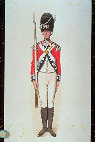 755054 Guardsman Light Company 2nd Coldstream Regiment Of Guards Circa 1795 A4 Photo Poster Print 10x8