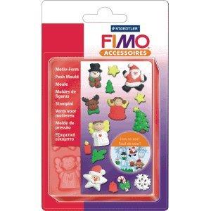 5 x Staedtler Fimo Motiv Form Weihnachten