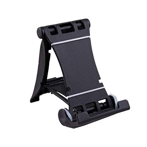 et Ständer Faltbare Telefon Schreibtisch-Halter Multi Usage Mini Telefon-Standplatz Cradle Schwarz ()