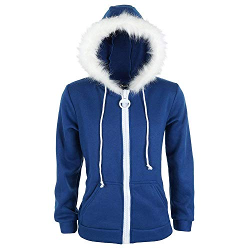 Lilalit Undertale Kapuzen Pullover von Sans Blau Hoodie Jacke Kapuzenpullover Cosplay ()