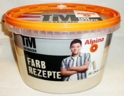 ALPINA Farbe Tim Mälzer Farbrezepte 2,5 L, Weicher Sand