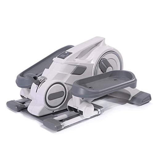 AWJ Multifunktions- Stepper Mini Haushaltsgewichtsverlust Maschine Ofenrohr Mute Kleine Elliptische Maschine,Grau