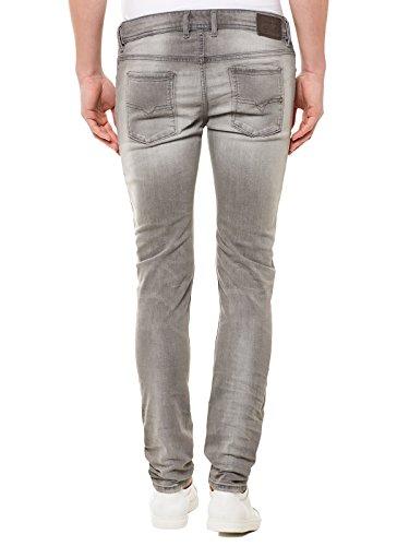 "Herren Jeans ""Slenker 672J"" Slim Fit Grau"