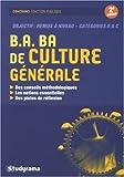B.A. BA de culture générale