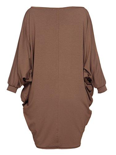 YULIYA BABICH fashion designer -  Vestito  - Tunica - Donna RAL8025; Cappuccino