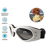 Hihey Occhiali da Sole per Cani Occhiali per Cani Occhiali da Sole per Cani Occhiali per Cani Piccoli/Medi Pieghevoli Protezione per Gli Occhi Impermeabile Protezione UV Anti-Fog Regolabile