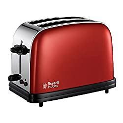 Russell Hobbs 18951-56 Colours Toaster (1200 W) flame red