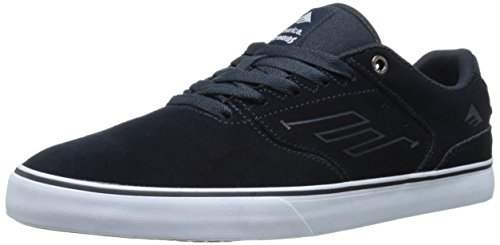 Emerica The Reynolds Low Vulc, Chaussures de Skateboard homme Bleu (Navy/White/Gum/478)