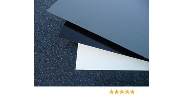 1000 x 1000 x 5 mm wei/ß Zuschnitt alt-intech/® Platte aus Hart PVC