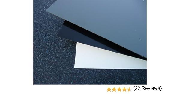 Plaque coup/é de PVC rigide 1000 x 1000 x 8 mm gris RAL 7011