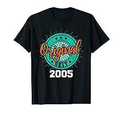 15. Geburtstag Party 2005 Geschenk Teenager Mädchen Junge T-Shirt