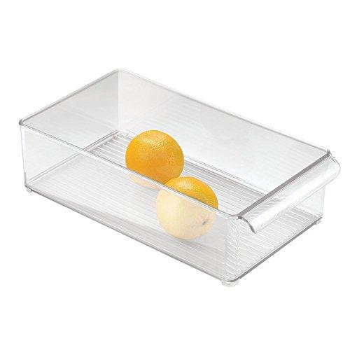 iDesign 70597EU Kühlschrank-Box 8 x 4, Durchsichtig - Kühlschrank Binz