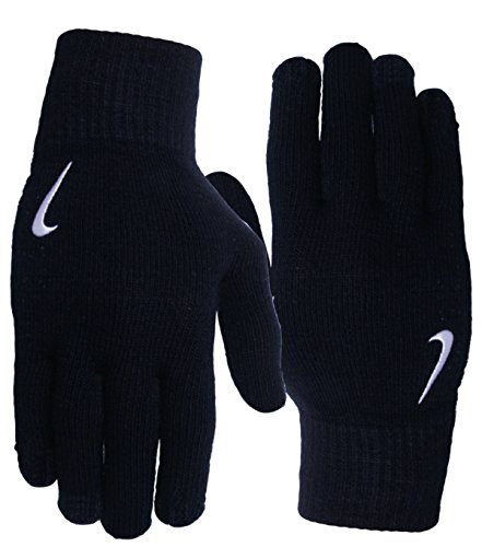 Nike - Knited Gloves Handschuhe - Black (S/M, Black) - Nike-thermo Handschuhe