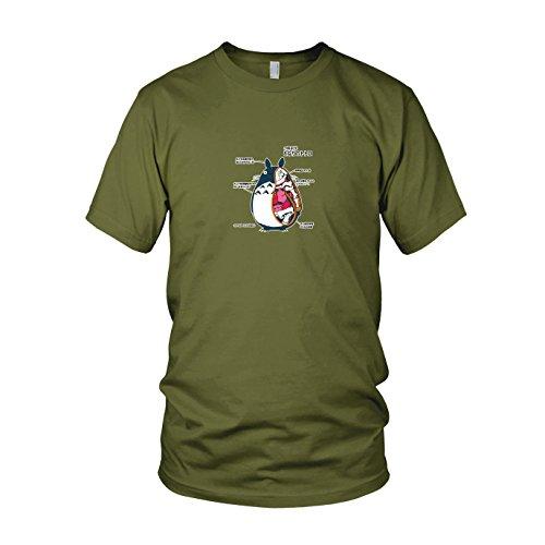 Neighbor Anatomy - Herren T-Shirt, Größe: S, Farbe: (Und Totoro Mei Kostüm)