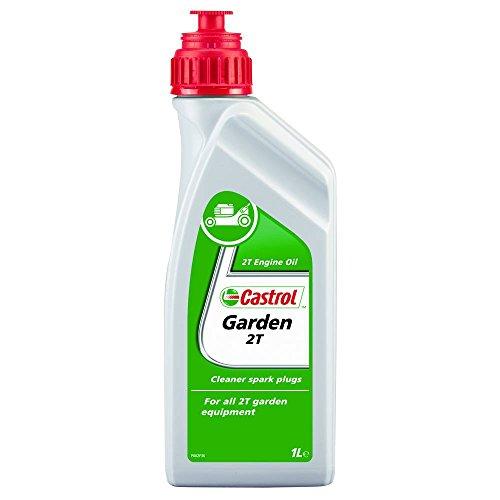 Castrol Garden - Aceite para motosierras y máquinas cortacésped (2T, 1 l)