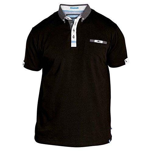 Duke London Herren T-Shirt * Einheitsgröße Schwarz