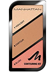 Manhattan Contouring Kit, Farbe 002, Summer In Barbados, 1er Pack (1 x 19 g)