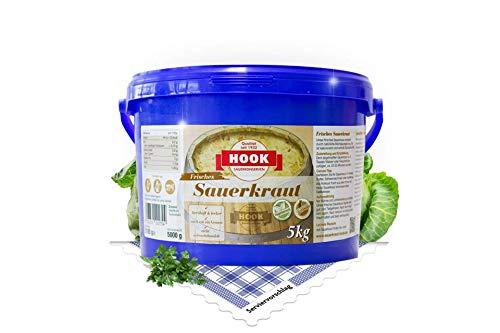 HOOK Sauerkraut frisch im 5 kg Eimer blau