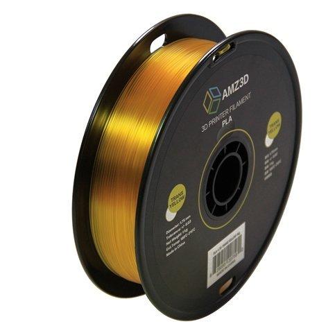 Price comparison product image 1.75mm Transparentes Gelb PLA 3D Drucker Filament - 1 kg Spule (2, 2 lbs) - Maßgenauigkeit + / - 0, 03 mm