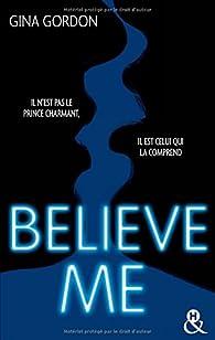 Temptation, tome 2 : Believe Me par Gina Gordon