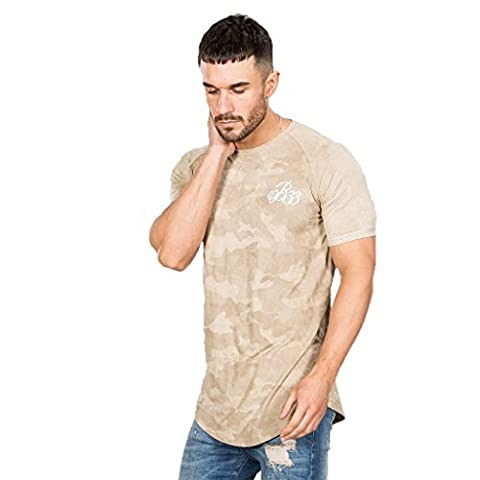 Bee Inspired T-Shirt Homme, pierre - Ridge Suede Tee