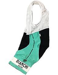Nalini Bianchi Milano Camiseta de manga corta – Celeste, 2 X -Grande