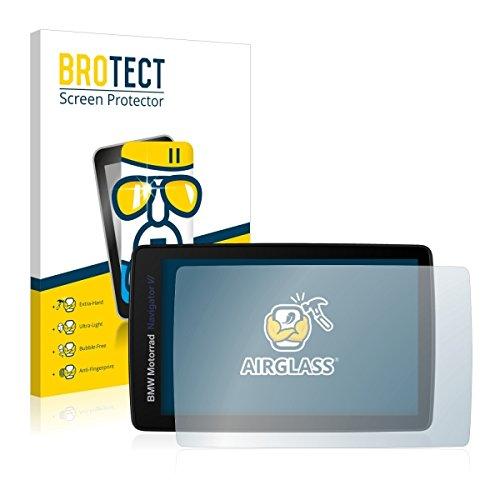 BROTECT AirGlass Premium Glasfolie für BMW Motorrad Navigator VI (extrahart, ultradünn, hochtranzparent, Anti-Fingerprint, flexibel)