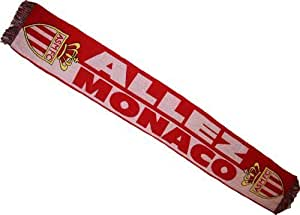 Echarpe ASM - Collection Officielle Football AS MONACO - ASM - Ligue 1 - Taille 138 cm