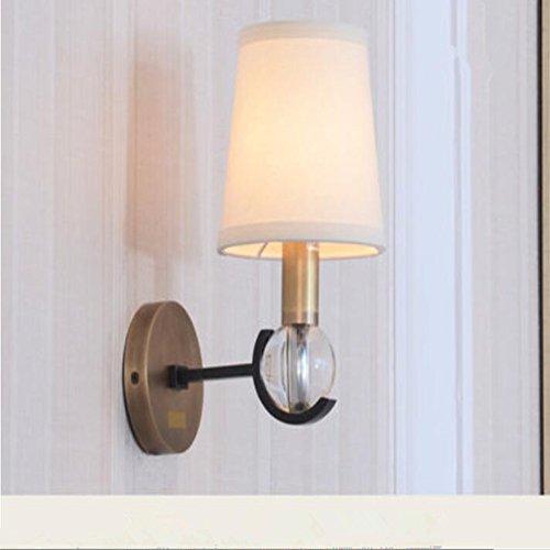 [MIAO Wandlampen Kupfer Wandlampen Europäischen Lampen Vintage Gang  Korridor Treppenhaus Wandleuchten