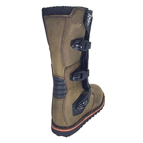 TRIAL STIEFEL WULFSPORT ENDURO QUAD TRAIL LEDER STIEFEL OFF ROAD BRAUN (43) - 6