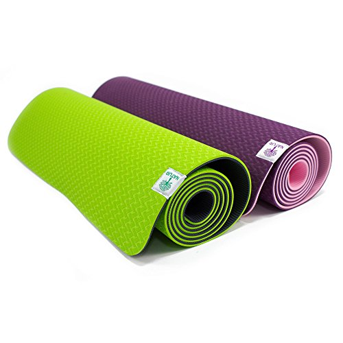 Zoom IMG-1 techfit yoga tappetino 6mm spesso
