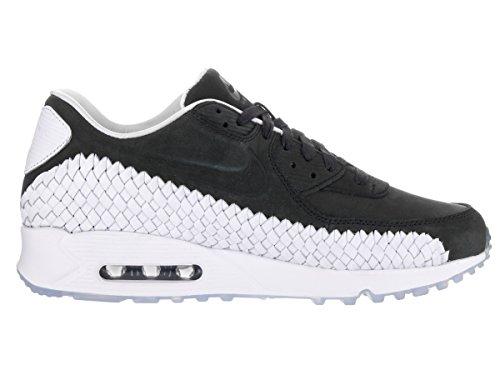 Nike Air Max 90 Woven, Chaussures de Running Entrainement Homme Noir (Noir / Noir-Blanc-Pure Platinum)