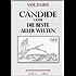 Voltaire: Candide oder Die beste aller Welten. Mit 26 Federzeichnungen von Paul Klee (illustriert)