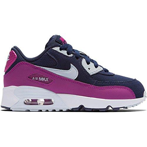 Nike 833341-402, Zapatillas de Deporte Niña, Azul (Midnight Navy/Blue Tint-Hyper Violet), 33.5 EU