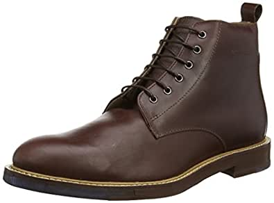 Ben Sherman Aine Ankle Boot, Chaussures Bateau Homme - Marron (Mahogany), 46 EU