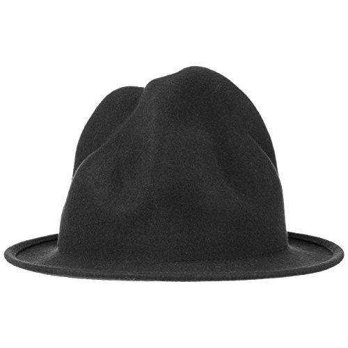41cbee4e9fd473 Lierys Big Mountie Wool Felt Hat by Men | Made in Italy Musician´s Summer