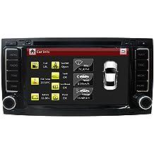 LIKECAR Especiales 7 Zoll 2 DIN pantalla táctil Auto-DVD GPS für Volkswagen Touareg VW Multivan T5 (2002-2010) GPS con navegación por radio estéreo Bluetooth Agenda Agenda de volante IPAS OPS Puerta Advertencia exhibición de la demostración temperatura de la pantalla de vídeo trasera del coche externo e interno MFD Aire acondicionado Visualizar radio de la ayuda VMCD 10DISC disco duro dual de la zona del asiento FM AM RDS Reproductor de CD Blance de sonido 4 * 60W