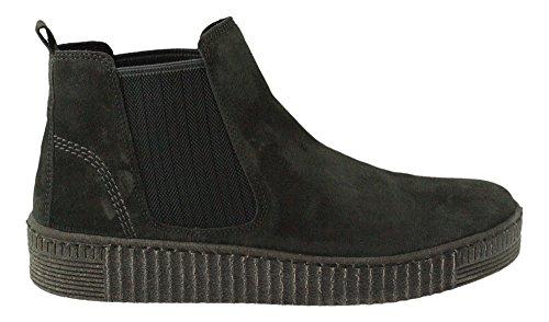 GABOR - Damen Stiefeletten - Anthrazit Schuhe in Übergrößen Beige