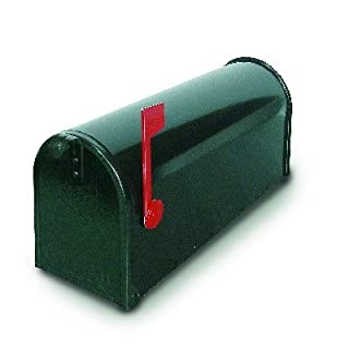 Alubox 47402 Mickey Mouse USA/1 Mail Box, Green
