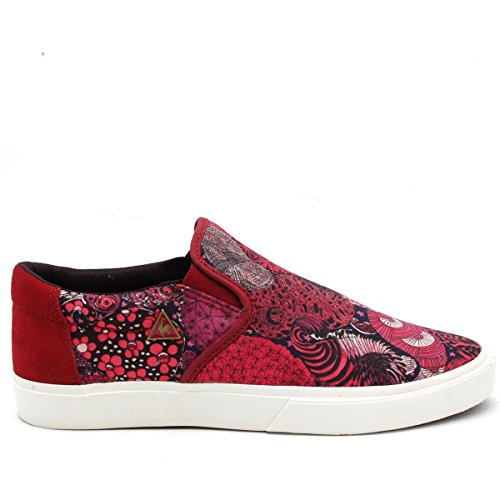 FERDINAND 2 SLIP ON W MIDNIGHTR - Chaussures Femme Le Coq Sportif Rouge