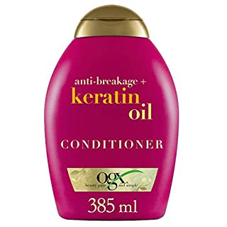 OGX Anti-Breakage Keratin Oil Conditioner, 1er Pack (1 x 385 ml)