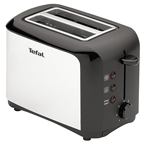 Tefal TT356110 Grille-pain Inox/Noir