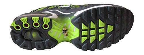 nike air max forte (GS) TN tuned 1 scarpe sportive 655020 scarpe da tennis Grigio Scuro Volt Bianco
