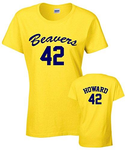 Ladies Beavers 42 Teen Wolf T-shirt